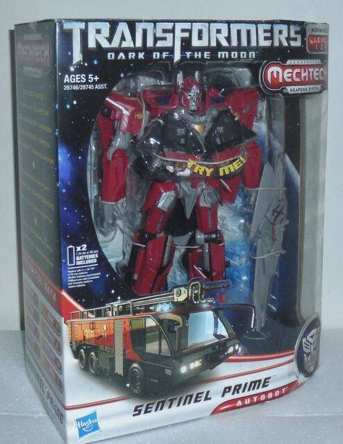 NEW Transformers Dark of the Moon MechTech Leader Sentinel Prime DOTM 2 DAY GET