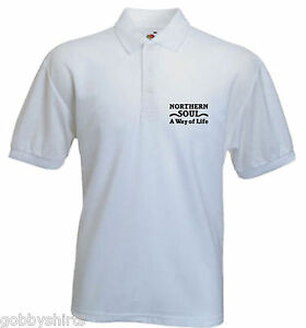 355ca0be Soul Mens Polo, Northern Soul a way of life, Northern Soul, Polo ...