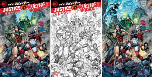 Justice League VS Suicide Squad 1 M&M Hardin Color+Penciled+Virgin Reveal Set