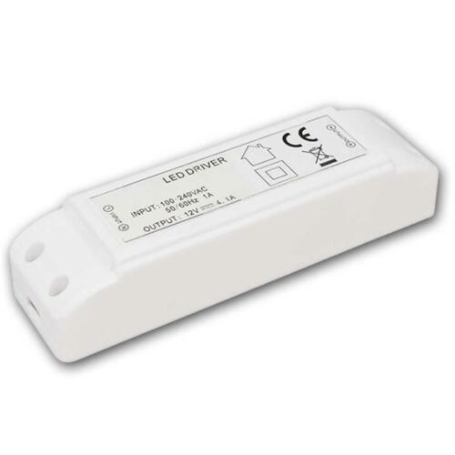 LED Trafo Transformatoren 0,5-80W 12V IP20 elektronisch für 12 Volt LEDs Treiber