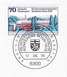 Site Officiel Rfa 1978: Bundeshaus à Bonn Nº 976 Avec Bonner Ersttags-cachet Spécial! 1a! 154-rstempel! 1a! 154fr-fr Afficher Le Titre D'origine