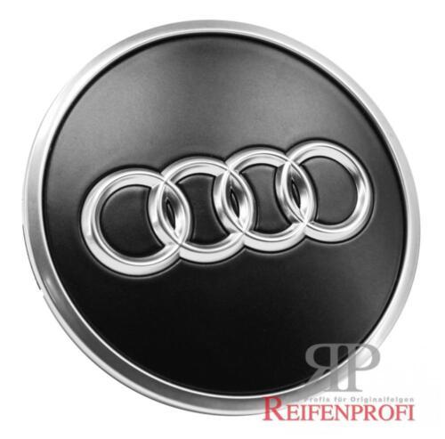 ORIGINALE Audi a3 s3 8p COPERCHIO MOZZO 4b0601170a lt7 NERO OPACO 8p0601025as