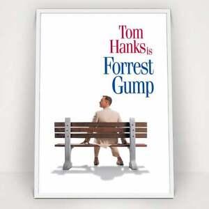 Forrest Gump 1994 Classic Vintage Movie Poster Print Ebay