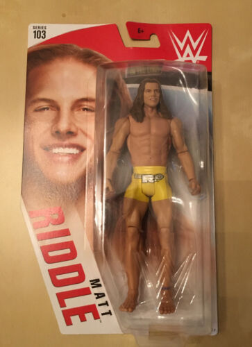 WWE Matt Riddle MATTEL BASIC SERIES 103 Wrestling ACTION FIGURE NEW UK Dunne
