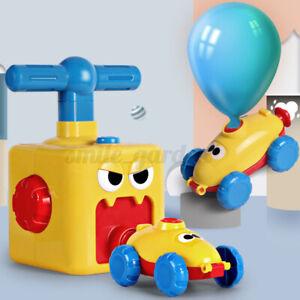 Kinder Ballon Auto Spielzeug pädagogische DIY Frühe Bildung Balloon Powered Car