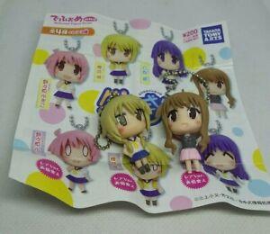 2pc yuyushiki Figur Schlüsselanhänger Armband Charm Anime Kawaii Japan Lot
