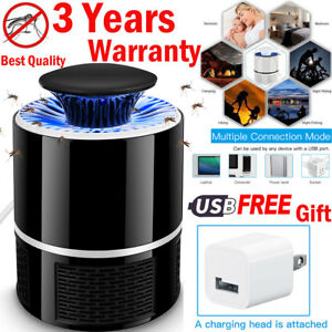 USB-Electronic-Bug-Insect-Mosquito-Killer-Indoor-Mosquito-Trap-Inhaled-Lamp-US