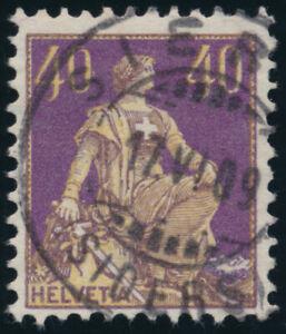 SCHWEIZ-1908-MiNr-101-x-sauber-gestempelt-Mi-110