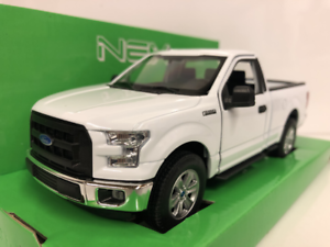 Ford-F-150-2015-Blanc-1-24-Echelle-Welly-24063W-Neuf