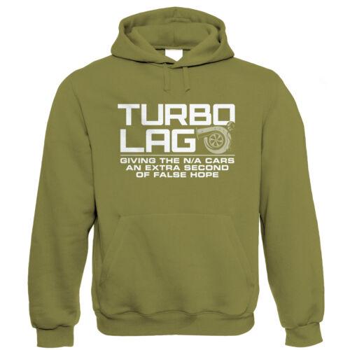 Gift For Him Dad Drag Racing Drift Motorsport Turbo Lag Mens Funny Car Hoodie