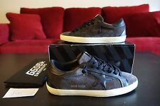 NEW Golden Goose Superstar Bespoke Suede Sneakers - Asphalt Gray - US 9 (EUR 42)