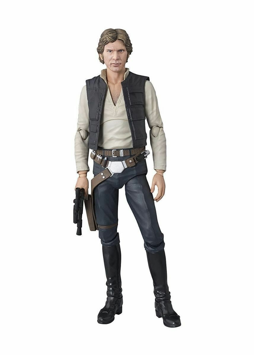 S.H.Figuarts Star Wars Ep4 A New Hope HAN SOLO Action Figure BANDAI NEW