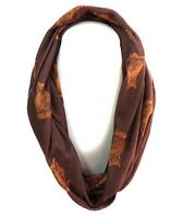 Brown Owl Infinity Scarf