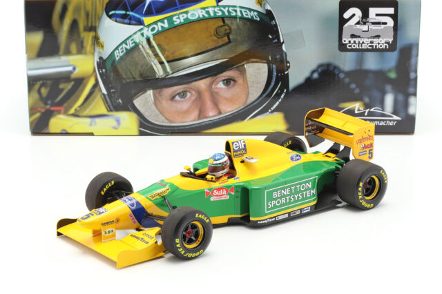 Michael Schumacher Benetton B193B #5 2nd San Marino Gp F1 1993 1:18 Minichamps