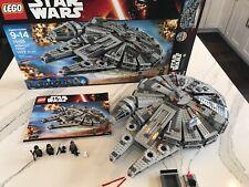 "RETIRED LEGO Star Wars /""Millennium Falcon/"" Set 75105 Open Box Sealed Bags"