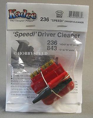 HO O Scale Kadee 236 Speedi Driver Cleaner Brush