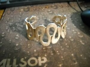 Marked-925-Sterling-Silver-Brushed-Cuff