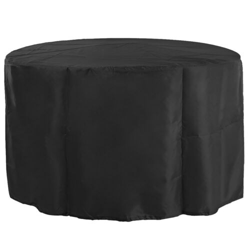 Outdoor Waterproof Oxford Cloth Round Table Chair Dust-proof Cover for Garden