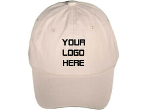 d99a05fceed Image is loading CUSTOM-PERSONALIZED-EMBROIDERED-Unstructured-Soft-Baseball- Hat-Cap-