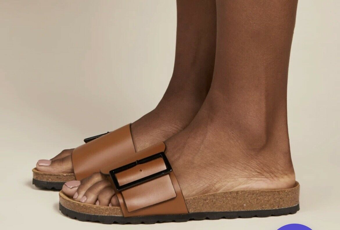 Intentionally Blank Claire  Sandal Tan size 7 - image 2