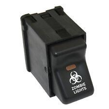 Zombie Lights 306 Rocker Switch 12v Light Parts For Jeep Wrangler 96 06 4wd O Fits 1999 Jeep Wrangler