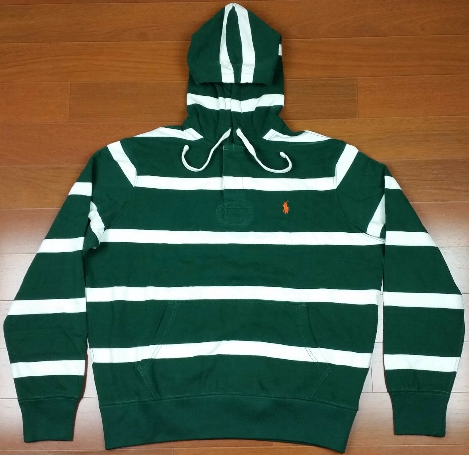 Polo Ralph Lauren Men Small Pony Striped Pullover Hoodie L Large XXL XX-Large
