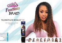 Water Wave 22 - Freetress Synthetic Bulk Braiding Hair Extension