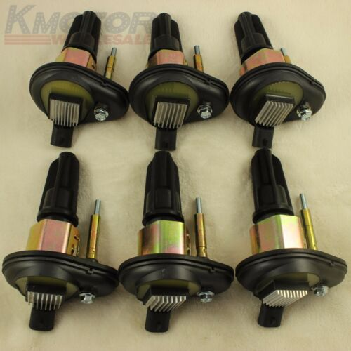 New Ignition Coil Set of 6 For 2002-2005 Chevy Trailblazer GMC Canyon Envoy H3