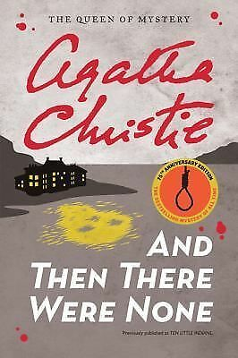 And Then There Were None by Agatha Christie (2011, Paperback)