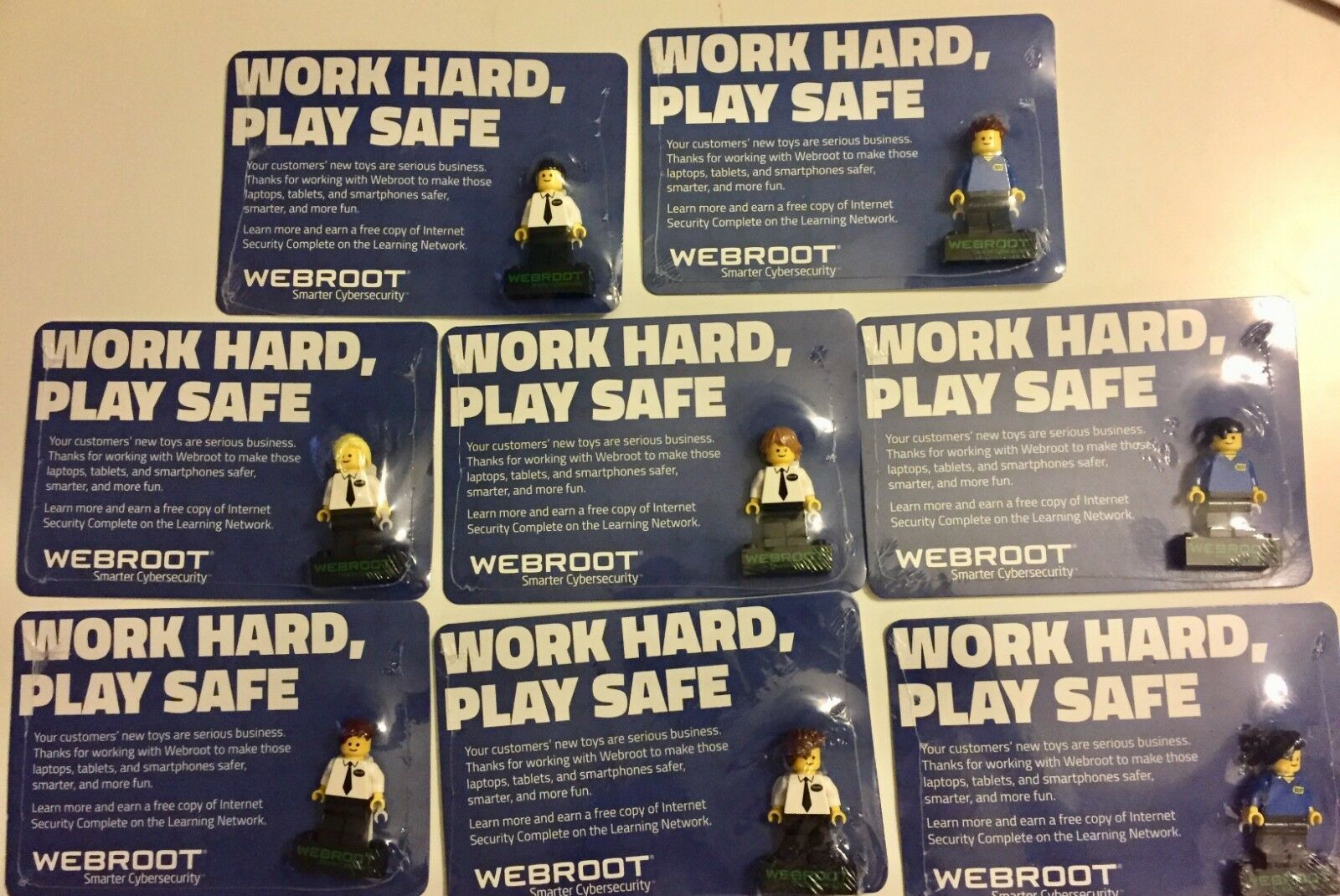 LEGO WEBROOT Minifigure BEST BUY EXCLUSIVE GEEK SQUAD BESTBUY SEALED RARE NEW