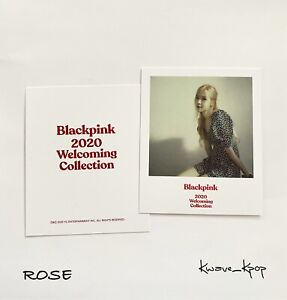 ROSE-BLACKPINK-OFFICIAL-POLAROID-PHOTO-CARD-2020-WELCOMING-COLLECTION