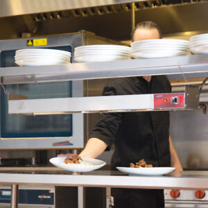 "Corded 36"" Strip Warmer Food Heat Lamp Commercial Buffet Restaurant Calrod"