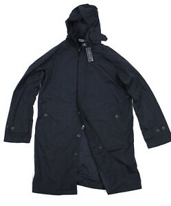 wide selection of designs best shoes outlet on sale Details about Polo Ralph Lauren Wimbledon Navy Hooded Trench Jacket Umpire  Raincoat Parka Coat