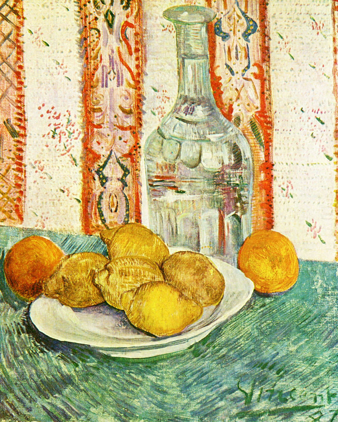 Still Life - Van Gogh- CANVAS OR Drucken Wand Kunst