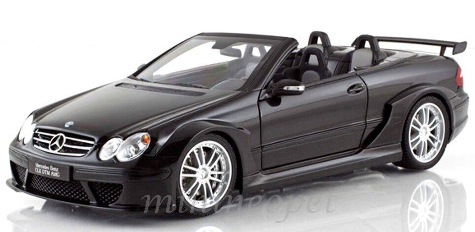 Kyosho 08462 MERCEDES  BENZ CLK DTM AMG cabriolet 1 18 noir  livraison éclair
