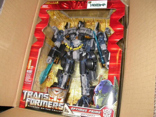 Transformers Revenge of the Fallen Amazon Japon Noir Optimus Prime Authentique