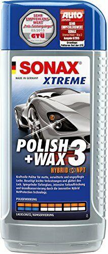 SONAX Xtreme - Lucido e cera 3 Hybrid NPT, 500 ml (N2c)
