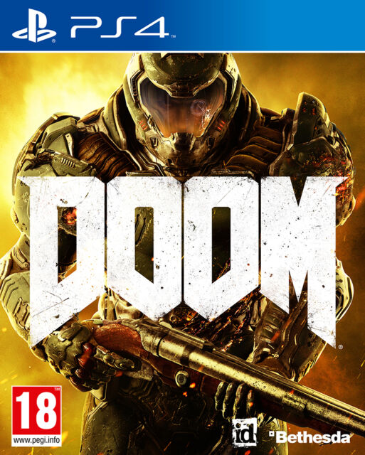 Doom PS4 BRAND NEW SEALED UK OFFICIAL