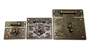 Schatullenverschluss-Schatullenschloss-Truhenverschluss-Kastenverschluss-A-071