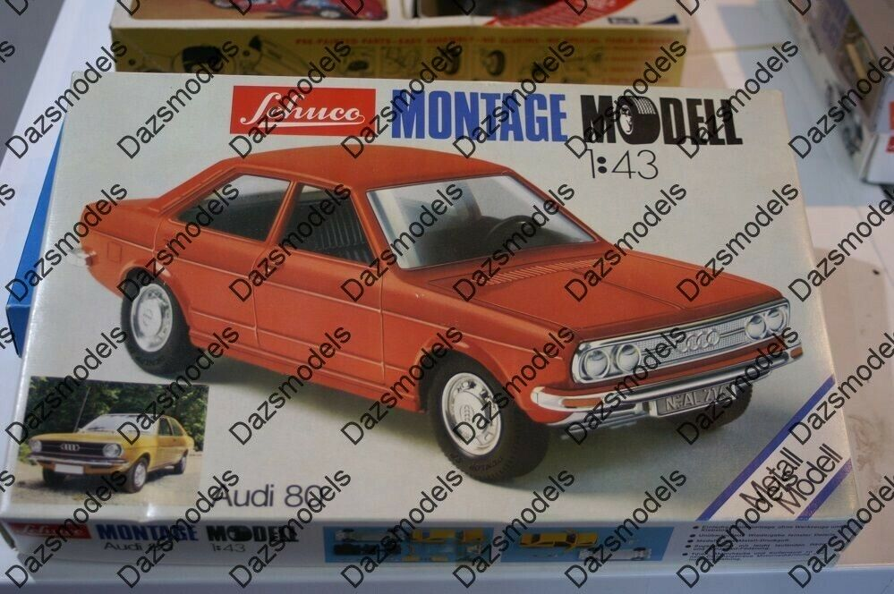 Schucoi 80 1 43 scale diecast made kit