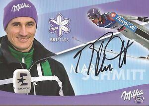 Martin Schmitt Skispringen Autogrammkarte Skispringen