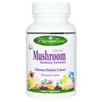 Paradise Imperial Mushroom Immune Formula 60 Caps Cordyceps Reishi Maitake