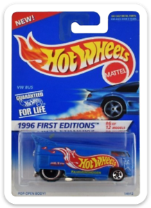 MAGNET-1996-Hot-Wheels-VW-Drag-Bus-First-Editions-MAGNET-for-Fridge-Toolbox