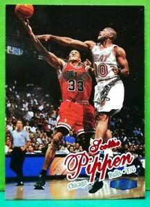 Scottie Pippen regular card 1997-98 Fleer Ultra #55