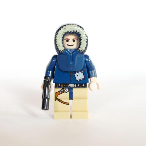 Lego® Star Wars™ Figur Han Solo Hoth Parka sw253 aus 7749 mit Waffe neuwertig