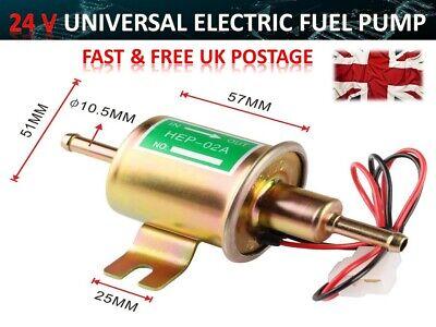 Electronic Fuel Pump HEP-02A 24V Car Modification Gas Diesel Low Pressure Pe