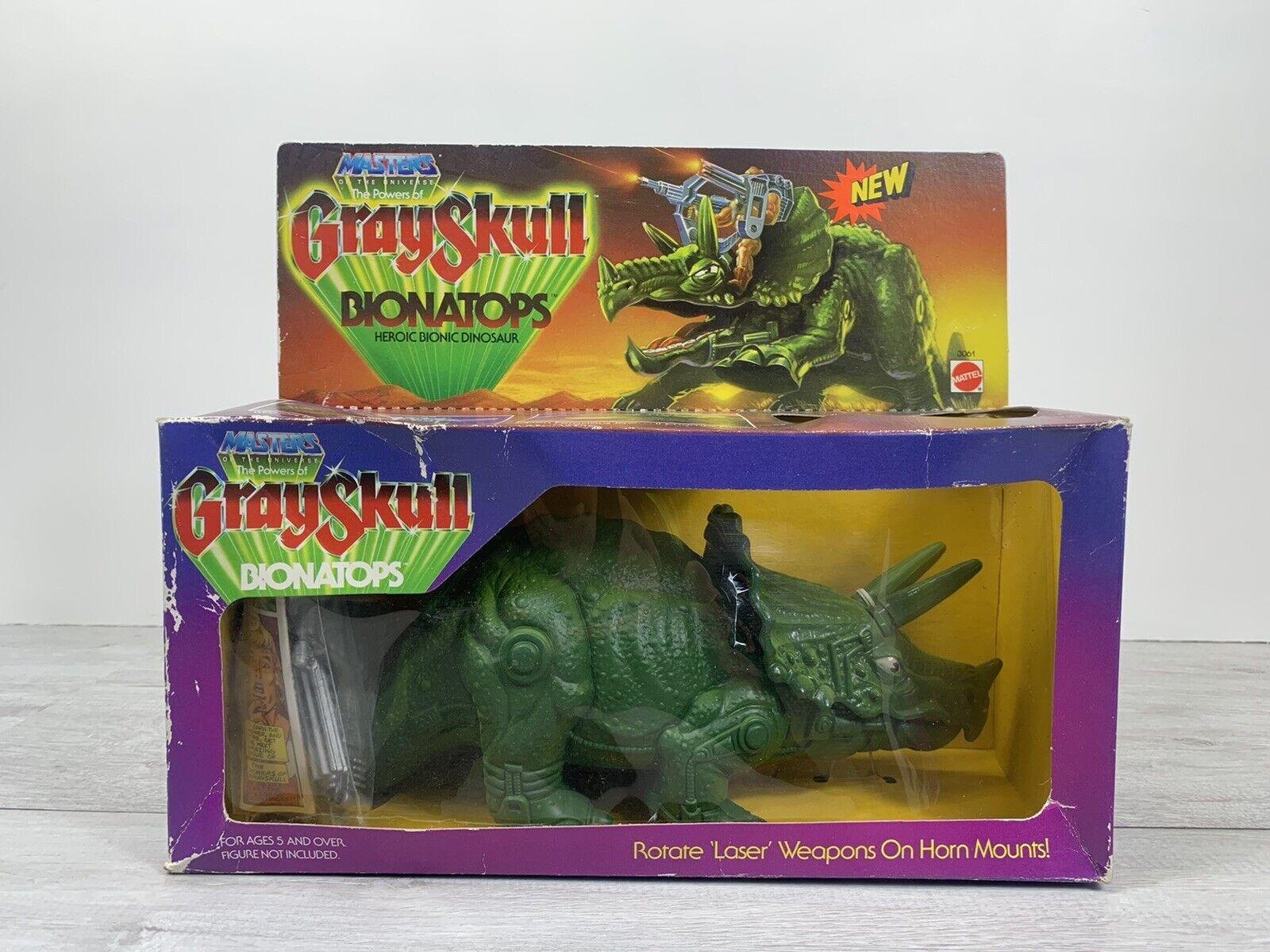 Masters Of The Universe BIONATOPS Dinosaur Mattel 1986 BOXED AND SEALED - MOTU