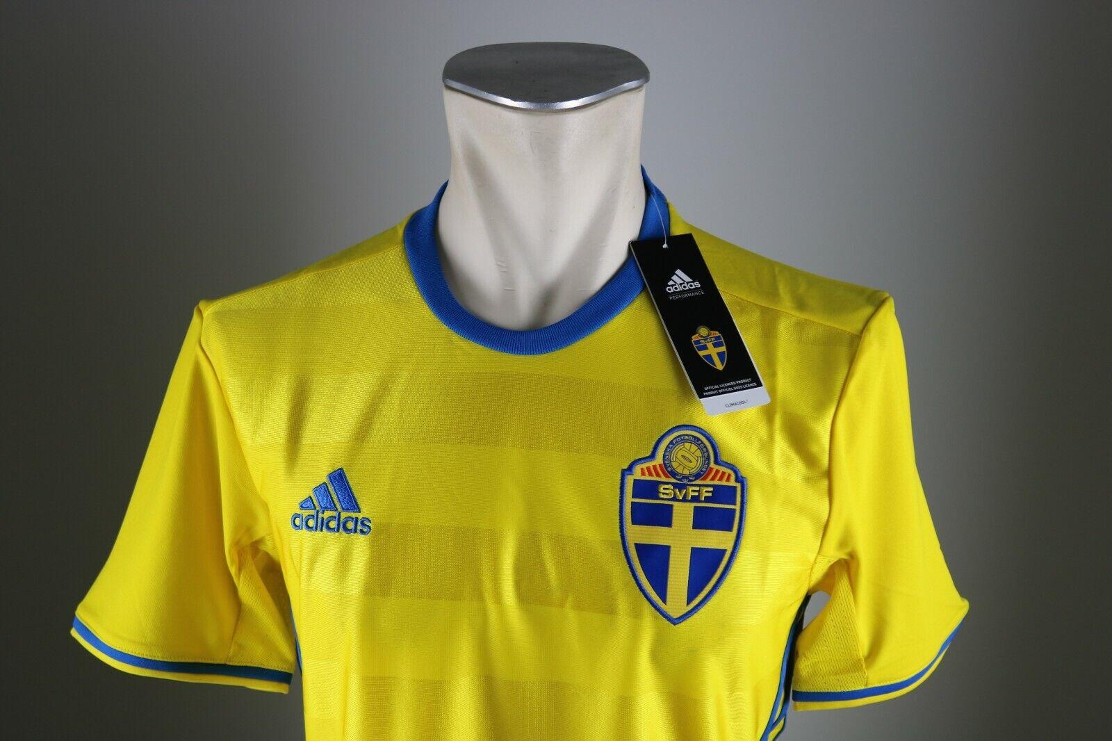 Schweden Trikot Gr.  S   XL     XXL   XXXL Neu Home Herren 2016 EM WM Sweden SvFF  | Smart  d5adc1