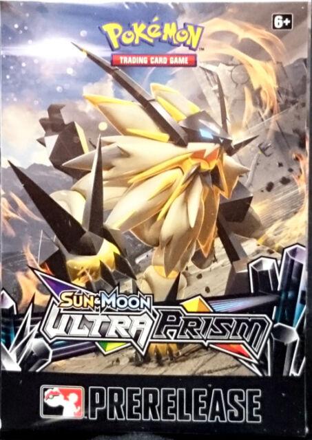 English Pokemon TCG SM5 Ultra Prism Prerelease Kit SEALED & IN HAND!!