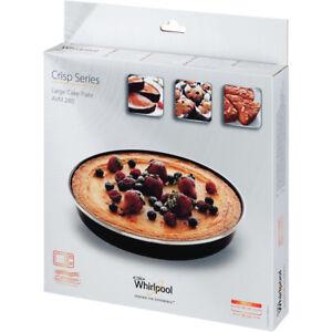 ORIGINALE-WHIRLPOOL-grande-torta-CROCCANTI-piatto-SOUFFLES-MICROONDE-AVM280